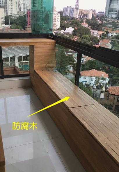 阳台柜横着打,能当地台坐着休闲,掀开盖子又能储物,我家也要打插图4