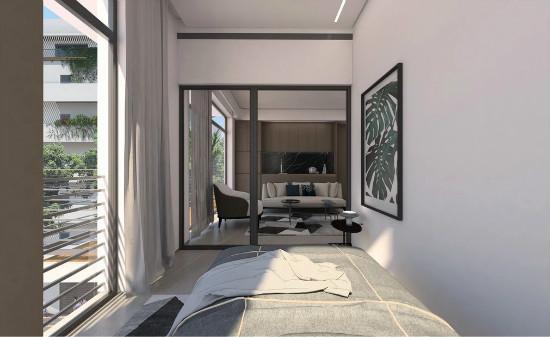 55㎡灰棕+绿,打造怀旧轻时尚风格住宅插图16