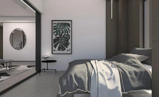 55㎡灰棕+绿,打造怀旧轻时尚风格住宅插图18