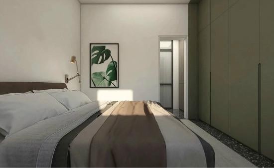 55㎡灰棕+绿,打造怀旧轻时尚风格住宅插图20