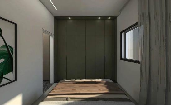 55㎡灰棕+绿,打造怀旧轻时尚风格住宅插图14