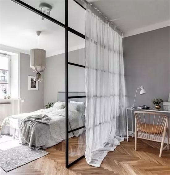 卧室的隔断怎么做才好看?插图4