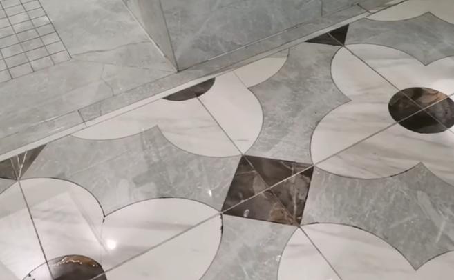 轻奢水刀拼花瓷砖,有适合你家装修风格的吗?插图