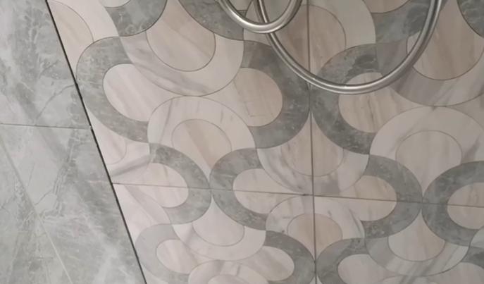轻奢水刀拼花瓷砖,有适合你家装修风格的吗?插图2