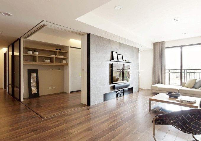 客厅地板装修颜色搭配技巧,地板和木门搭配攻略插图4
